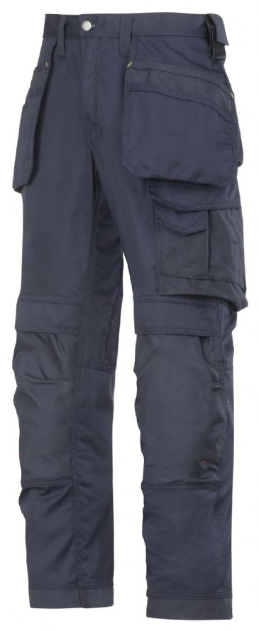 Snickers 3211 CoolTwill Craftsmen Holster Pocket Trousers (Navy)